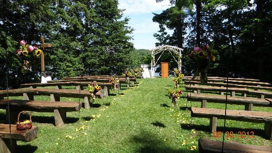Lakewoods Resort: Wedding site