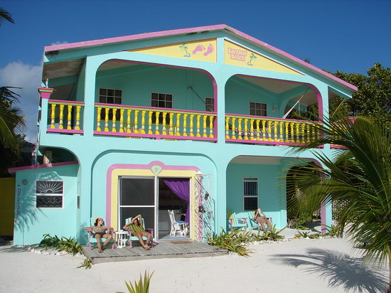 Barefoot Beach Belize: Front view