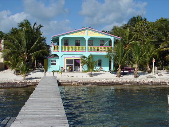 Barefoot Beach Belize: From view from dock