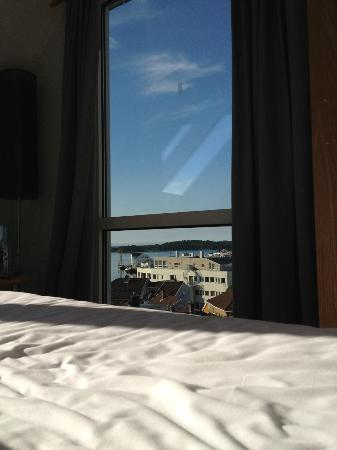 Scandic Grimstad: My morning wake up view
