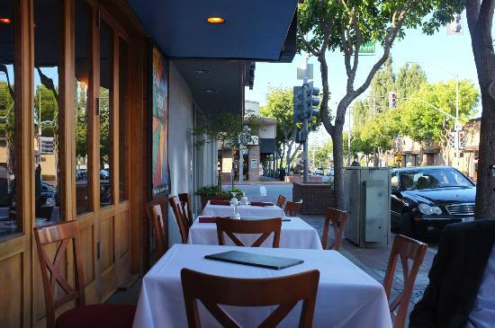Spiedo Ristorante: A view of the outdoor seating