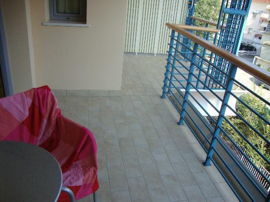 Hotel Rialto: terrazzo camera