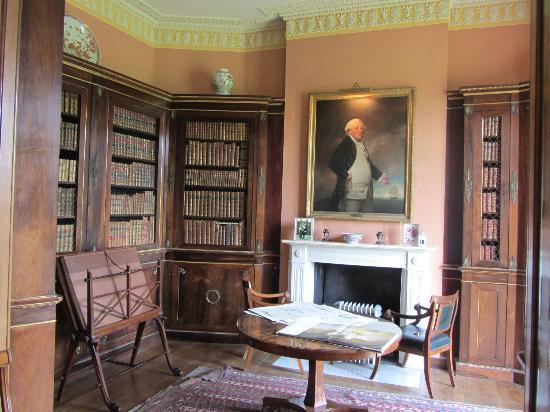 Melford Hall: Library