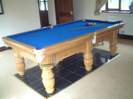 Ashbrook Towers Farm B&B: Pool Table