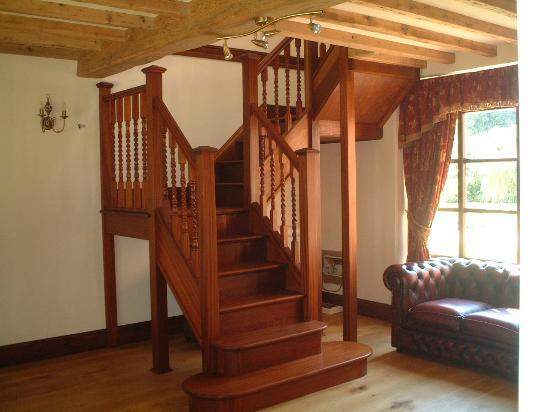 Ashbrook Towers Farm B&B: Stairs