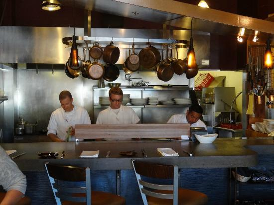 Syrah Bistro : The Chef and the Kitchen