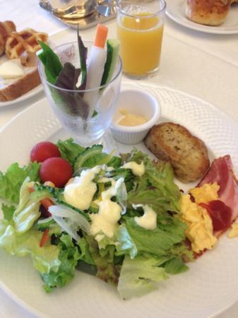 The Atta Terrace Club Towers: 朝食。沖縄食材も多く使用されていました