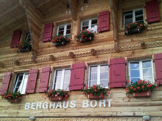 Berghaus Bort: from the terrasse