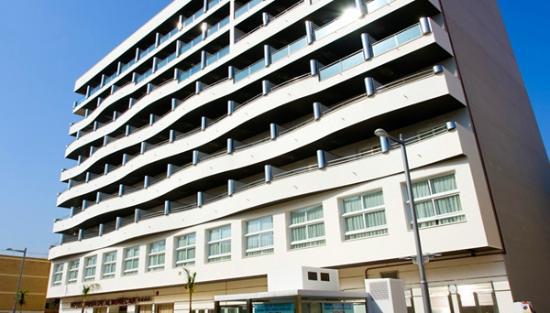 Hotel Bahia de Almunecar: Fachada hotel Bahía de Almuñécar