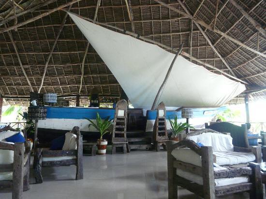 The Zanzibari: The restaurant