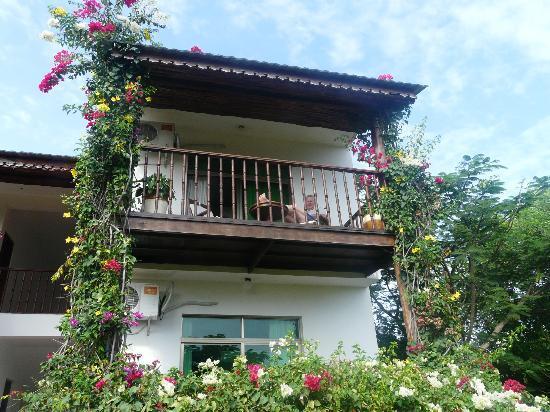 The Zanzibari: Room and balcony