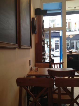 Chamomile Cafe: View from my table...