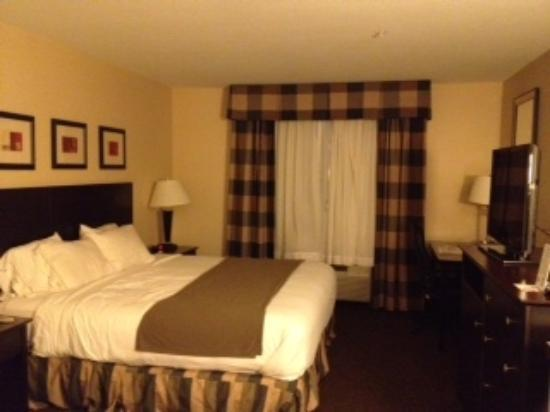 Holiday Inn Express Fort Collins: plaid