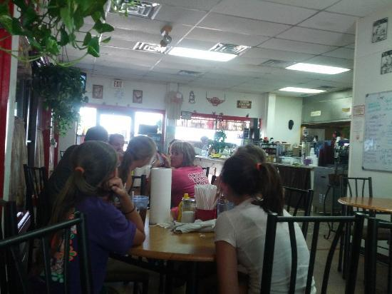 Jeannie's One Stop Diner: Inside restaurant