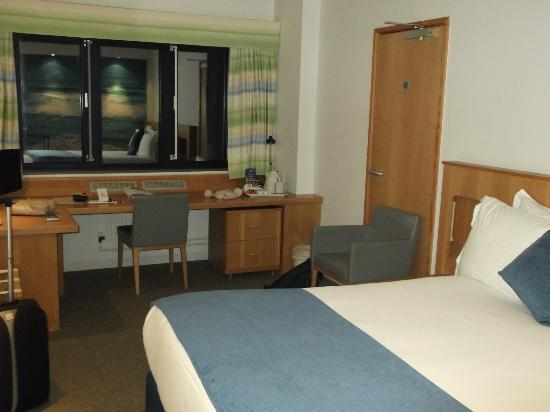 RNLI College: Bedroom view 2