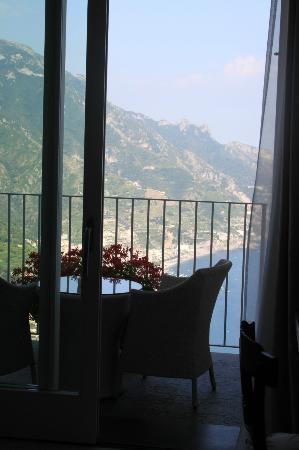 Hotel Villa Fraulo: Chambre supérieure au 4e étage