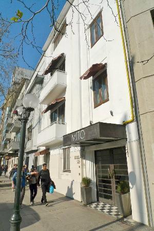Mito Casa Hotel: Hotel entrance