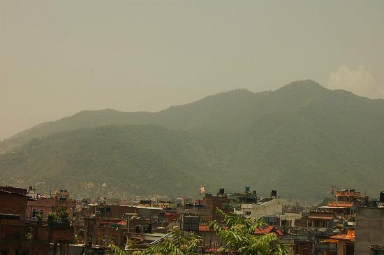 Family Peace House: rooftop view