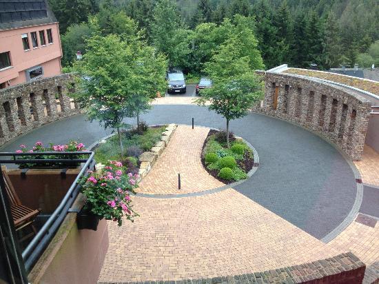Klosterhotel Marienhoeh : Hotelgelände