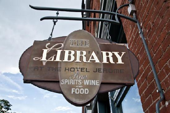 Hotel Jerome, An Auberge Resort: Jerome Library