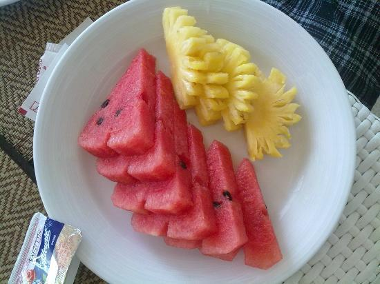 Rayaburi Beach Club Hotel: Breakfast - Fruits
