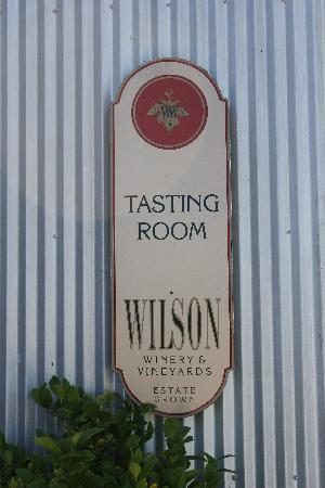 Wilson Winery: Unassuming, yet great wines...