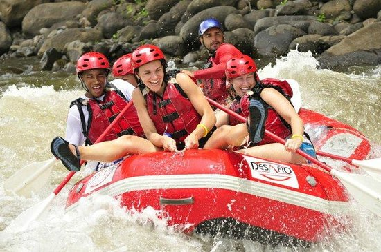 Desafio Adventure Company - Day Tours: Desafio Adventure Connection from San José to the Arenal Volcano - go rafting on the way!