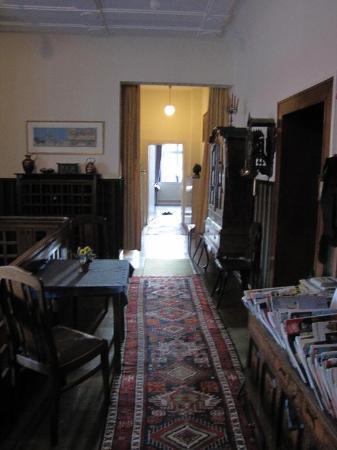 Pension Müller: public area hallway