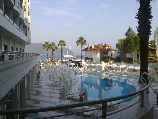 утро - Изображение Golden Rock Beach Hotel, Мармарис - TripAdvisor