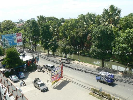 Chiang Mai Residence: veduta dal piano
