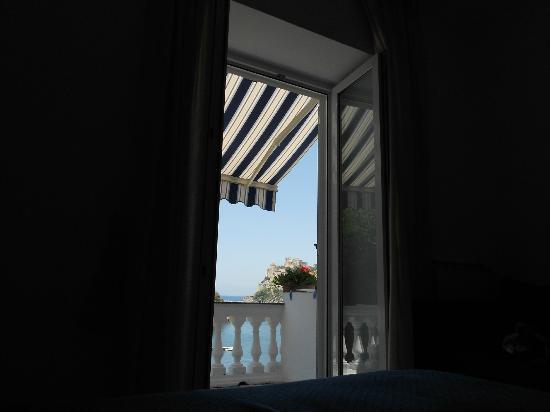 Da Maria: Vista dall'interno della camera