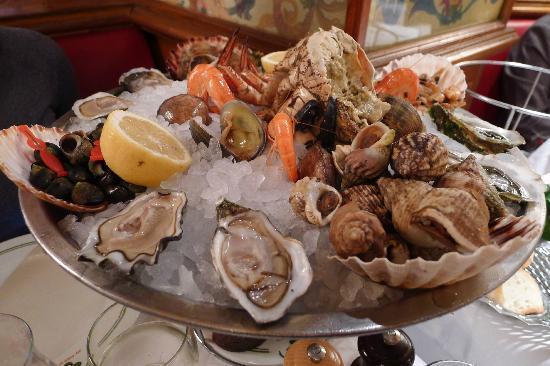 Restaurant Plateau De Fruit De Mer Ile De France
