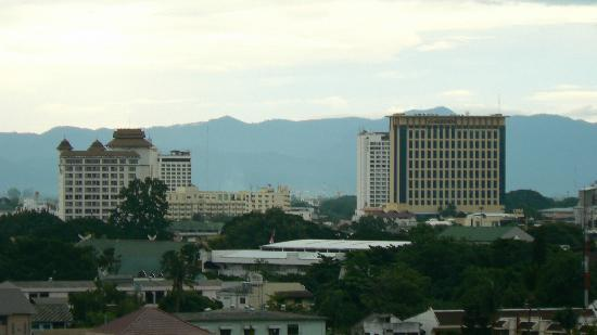 Chiang Mai Residence: panorama dal tetto