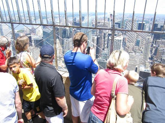 New York Skyride : Crowded!