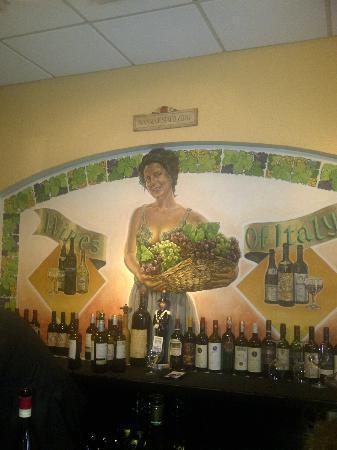 Il Pizzico: at the bar