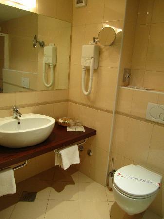 Villa Rosetta Hotel: Baño
