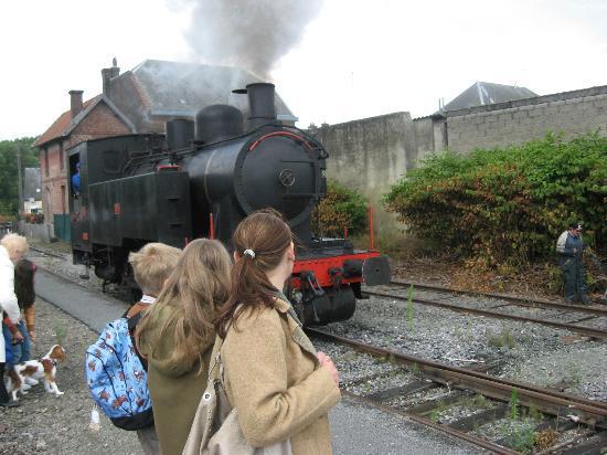 Chemin de fer touristique du Vermandois : tussenstop