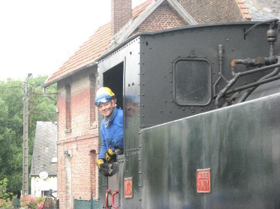 Chemin de fer touristique du Vermandois : De machinist