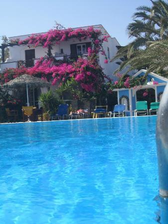 Holiday Beach Resort: Hotel View