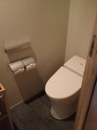 Hotel Kanra Kyoto: The toilet