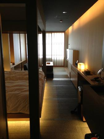 Hotel Kanra Kyoto: View from the door