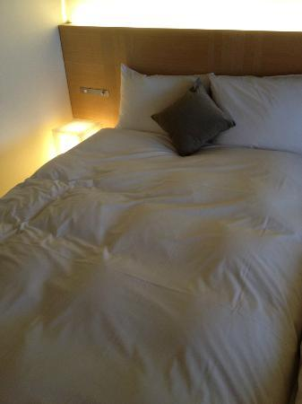 Hotel Kanra Kyoto: The bed