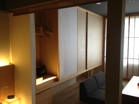 Hotel Kanra Kyoto: The traditional storage space