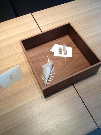 Hotel Kanra Kyoto: Welcome lollies