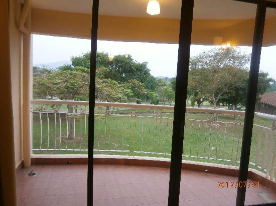 Mayangsari Suite A'Famosa: balcona