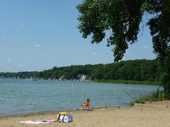 Pokagon State Park Beach Neear The Inn