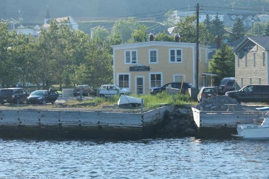 Aunt Jane's Place : Viewed from Bonne Bay Tour Boat