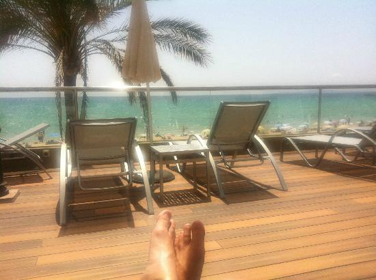 Sunprime Palma Beach: A view from the sun terrace