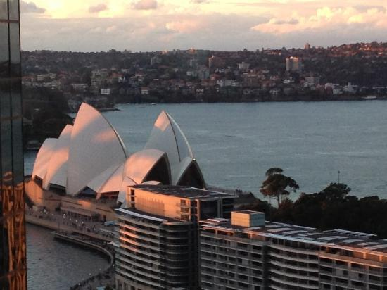 Sydney Harbour Marriott Hotel at Circular Quay: opera view
