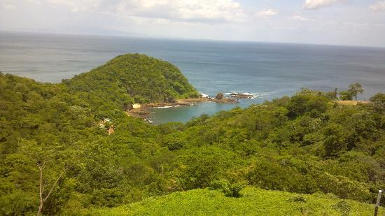Casa Del Soul : view from the other side of  San Juan del Sur...Paradise Bay.